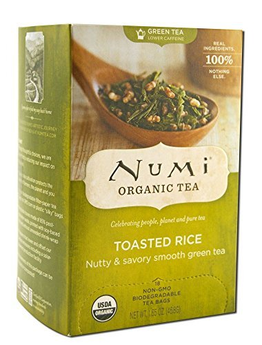Numi Organic Tea Toasted Rice Green Tea, Pack of 2 (Rice Tea Numi compare prices)