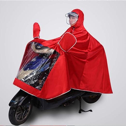 LIBWX Impermeable para Bicicleta eléctrica, Poncho para Adultos ...