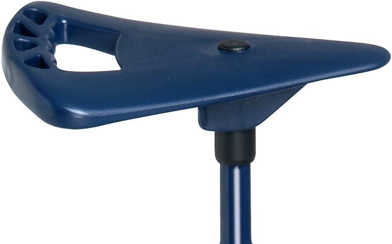 b/âton de marche Place assise sac /à bandouli/ère pliable et r/églable en hauteur incluse couleur bleu