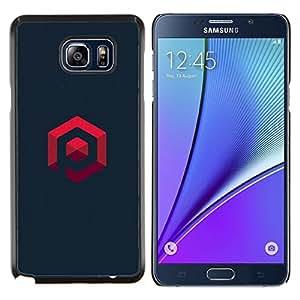 YiPhone /// Prima de resorte delgada de la cubierta del caso de Shell Armor - mi propio logo - Samsung Galaxy Note 5 5th N9200