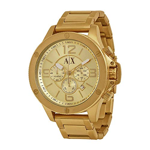 s AX1504  Gold  Watch ()
