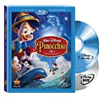Pinocchio (Two-Disc 70th Anniversary Platinum Edition Blu-ray/DVD Combo + BD Live) [Blu-ray] Image