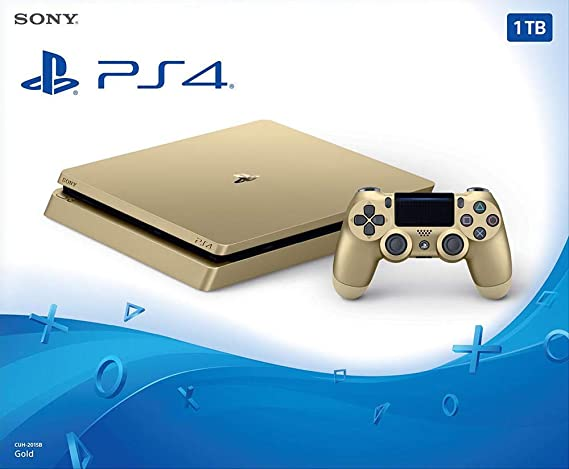 PlayStation 4 (PS4) - Consola De 500 GB, Color Dorado + 2 Mandos ...