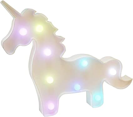 AIZESI Unicorn Lampe Licorne Decoration Licorne LED Enfant Murale,Appliques Murales Unicorn Lampes de Chevet,D/écorations Unicorn Lampes Licornes Lampes de bureau lumi/ères dambiance Rose