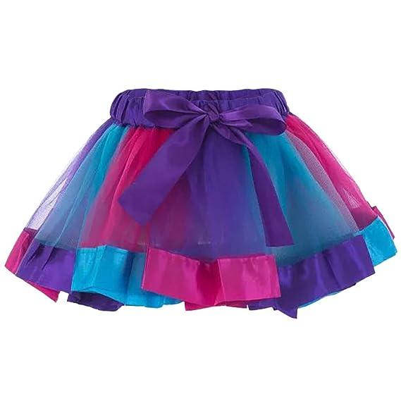 SUDADY - Falda de Mujer con tutú de Tul para Disfraz de Carnaval ...
