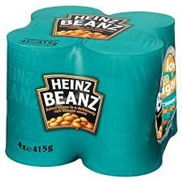 Heinz Baked Beans 4 Pack 1660g