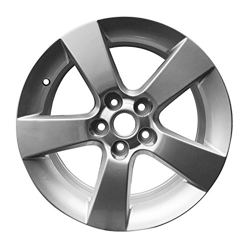 Road Ready Car Wheel For 2011-2014 Chevrolet Cruze 16 Inch 5 Lug Gray Aluminum Rim Fits R16 Tire - Exact OEM Replacement - Full-Size Spare (Stock Rims Chevy 14)