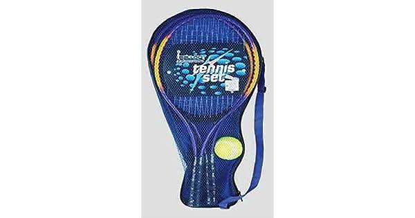 Amazon.com: Metal Raqueta de tenis Set para 2 jugadores ...