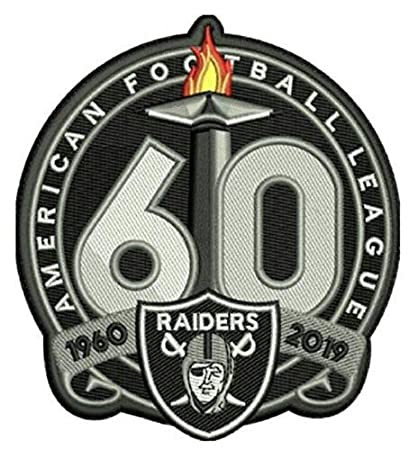 Raiders Schedule 2020.Amazon Com Football Raiders 60th Anniversary Patch 1960