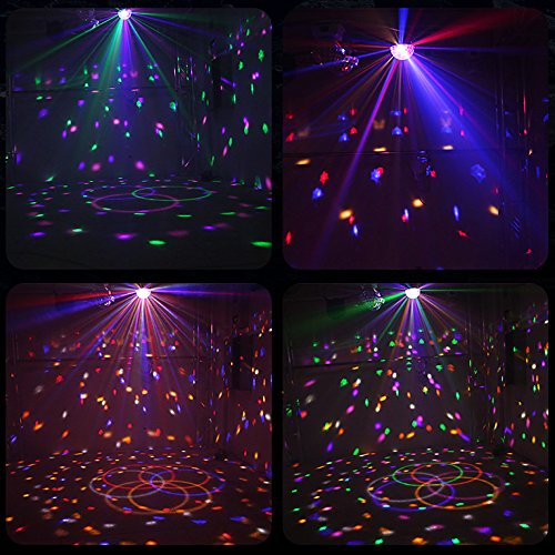 Dj Disco Ball Party Lights Bluetooth Speaker TONGK LED Magic Ball Colorful Mirror Ball Disco Lights Sound Activated Strobe Light for Home Party Gift Birthday halloween Dance Bar Xmas Wedding Show Club by TONGK (Image #7)