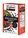 Explore Cuisine Organic Black Bean Spaghetti 8 oz (Two-Pack) Vegan and Gluten Free