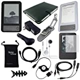 DigitalsOnDemand 14-Item Accessory Bundle for Amazon Kindle 3 3rd Gen 3G and Wi-Fi Compatible with Latest Generation Kindle Keyboard