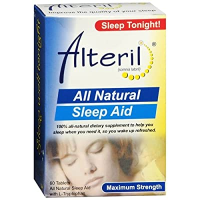 Alteril All Natural Sleep Aid 60 ea Pack of 2