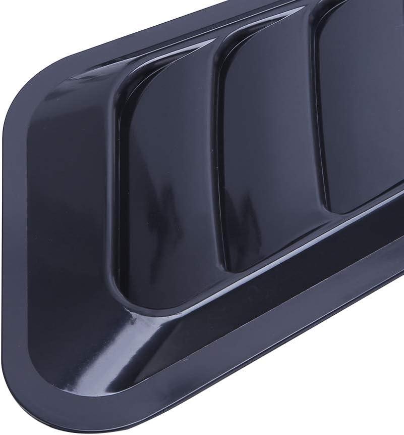 ABS Xuniu Autocollant Universel pour Voiture Capot d/écoratif en ABS avec Flux dair d/écoratif