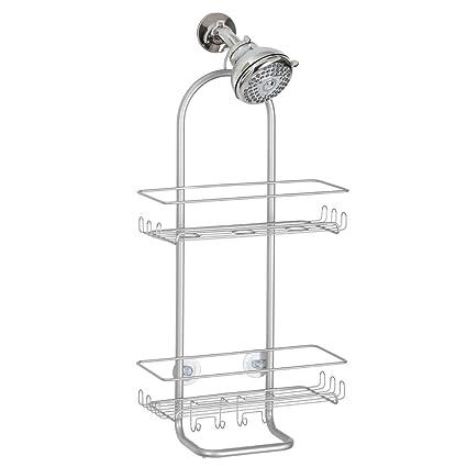 Bon InterDesign Classico Extra Large Shower Caddy   Bathroom Storage Shelves  For Shampoo, Conditioner And Soap