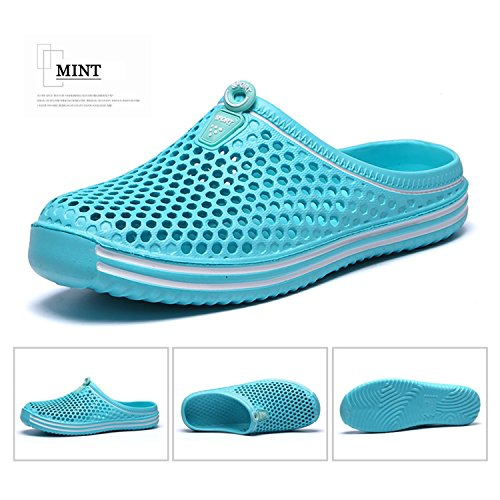 Women's Garden Shoes Quick Beach Walking Mint Summer Mens Clog Shoes BARKOR Mesh Drying Sandals 6qwnxdIFU6