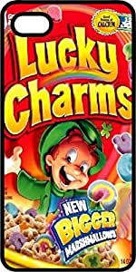 Frosted Lucky Charms Cereal Box Tinted Rubber Case for Apple iPhone 4 or iPhone 4s by icecream design