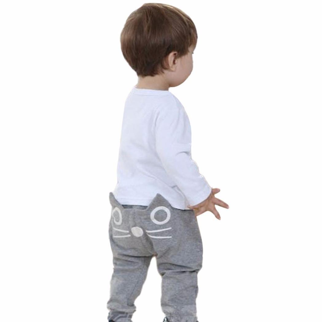 changeshopping Children Kids Boys Girls Cartoon Cat Harem Pants Trousers Changeshopping 5464 Changeshopping510