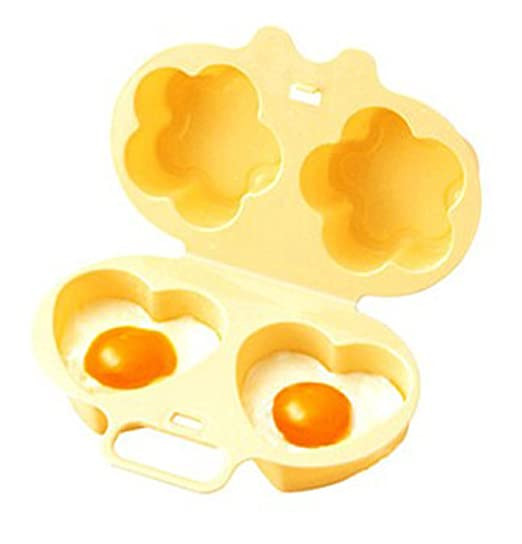 coroler plástico microondas escalfador de huevos para cocinar al ...