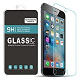 iPhone 6S Plus Screen Protector,BAVIER Ultra-clear Tempered Glass Screen Protector,3D Touch Compatible,9h Hardness,99% Touch-screen Accurate,Tempered Glass Film(5.5