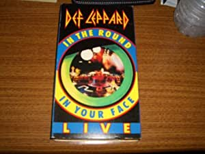Def Leppard; Live in the Round, In Your Face  [VHS]