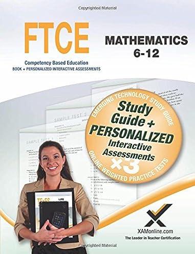 ftce mathematics 6 12 sharon a wynne 9781607873839 amazon com books rh amazon com ftce k-6 math study guide ftce general knowledge math study guide