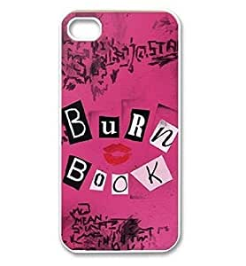 meilinF000Season.C The Burn Book - Mean Girls movie iphone 5/5s Case Cover Plastic Shell Hard Case Cover Protector for iphone 5/5smeilinF000