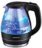 Ovente KG83 1.5L Glass Electric Kettle Black (Small Image)