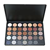 35 eyeshadow palette - Water-chestnut 35 Full Color Eyeshadow Palette Smoky Nude Makeup Gloss Matte Shimmer Eyeshadow Palette Make Up Cosmetic