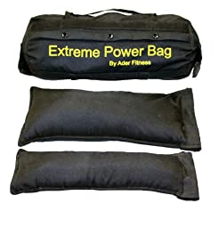 Ader Sand Bag (Large) w/ Filler Bags- (2 Small, 2 Medium, 2 Large) Hold Sand 1-150 Lb.