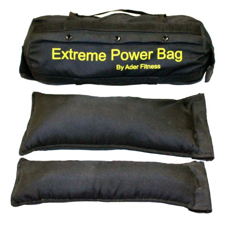 Ader Sand Bag (Large) w/ Filler Bags- (2 Small, 2 Medium, 2 Large) Hold Sand 1-150 Lb. by Extreme Power Bag