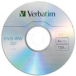 1pk Dvd-rw 4x 4.7gb Branded W