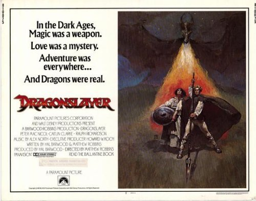Dragon Slayer Poster - Dragonslayer POSTER Movie (22 x 28 Inches - 56cm x 72cm) (1981) (Half Sheet Style A)