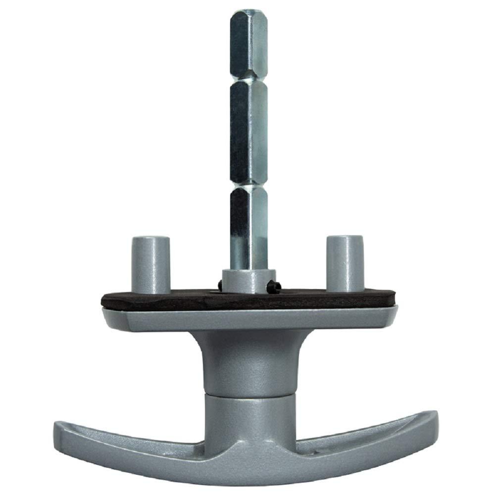 Universalschloss f/ür Garagentor 18 mm f/ür Henderson-Garagentore geeignet