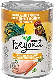 Beyond Grain Free Natural Wet Dog Food, Chicken, Carrot & Pea 368 g Can (00055800340