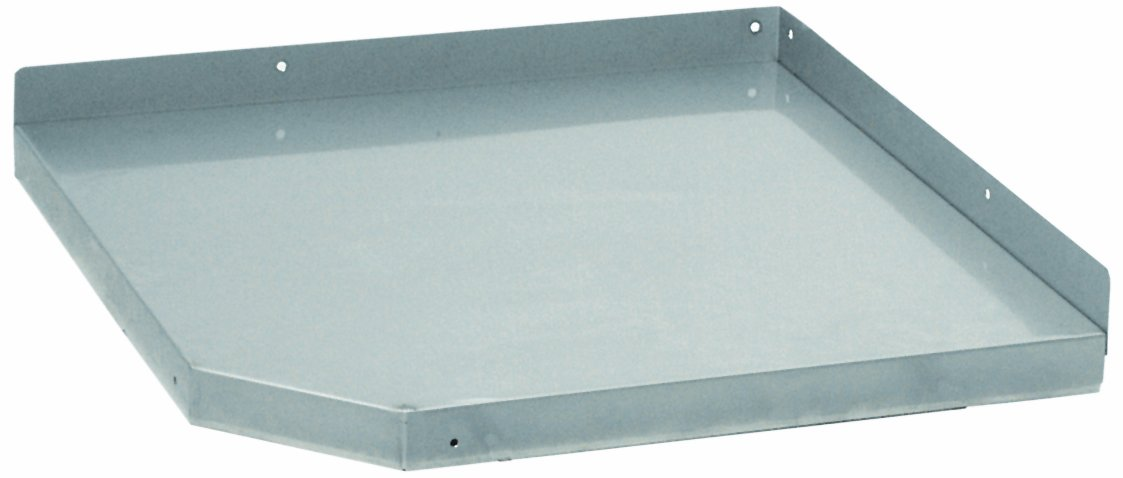 B-TEC Systems AS-E Stainless Steel Corner Link Tray for Modular Table, 24'' Width x 24'' Length