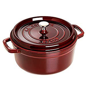 staub round cocotte oven quart best gift for christmas holiday season. Black Bedroom Furniture Sets. Home Design Ideas