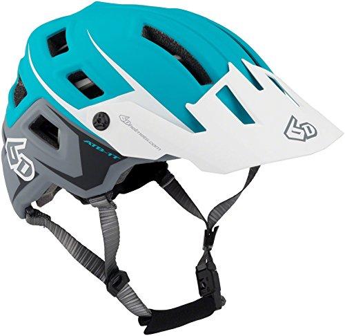 - 6d ATB-1T EVO Trail Bicycle Helmet-Aqua/White-XS/S