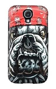 S0100 Bulldog Punk Rock Biker Case Cover Samsung Galaxy Note2 N7100/N7102 mini