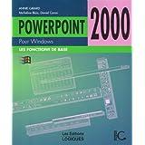 Powerpoint 2000 pour windows de base