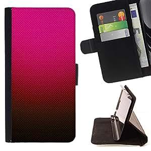 Momo Phone Case / Flip Funda de Cuero Case Cover - Gradiente de color rosa rojo marrón - LG G4 Stylus H540