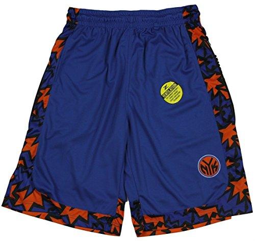 New York Knicks NBA Mens Darius Shorts, Blue