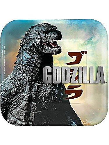 Godzilla Small Paper Plates (8ct) by Amscan