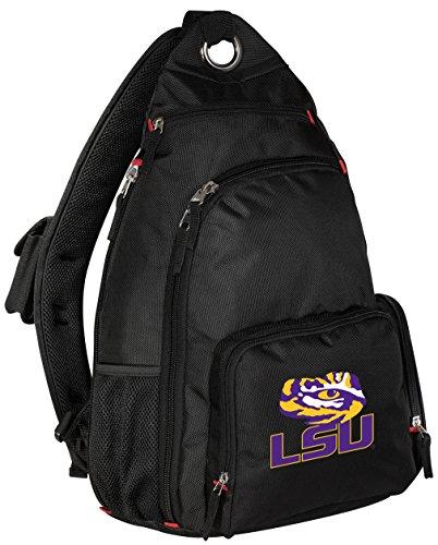 Lsu Tigers Single - Broad Bay LSU Tigers Backpack Single Strap LSU Sling Backpack