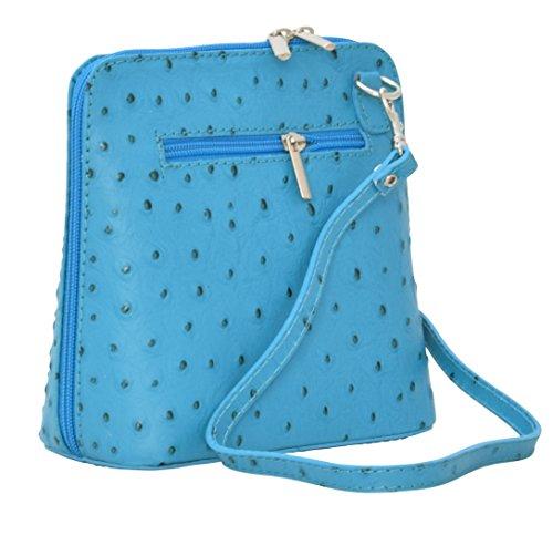 Genuine Cross Shoulder Bags Handbags Leather Bags Body Women's BORSETTA 40vSnqw