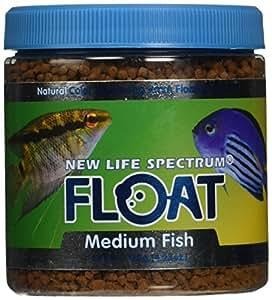 New life spectrum float md fish pellet food for New life spectrum fish food