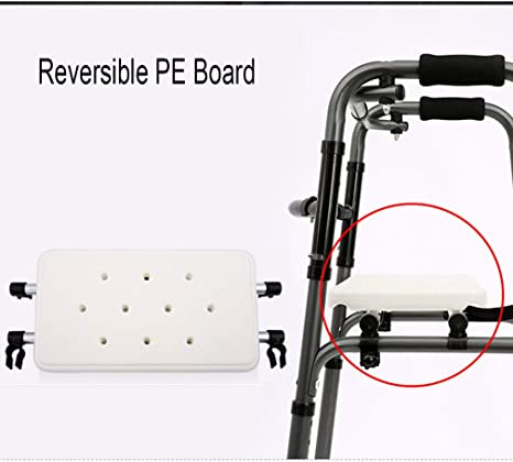 Amazon.com: Andador con ruedas para adultos mayores, silla ...