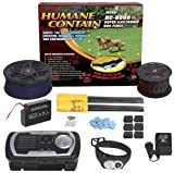 High Tech Pet Humane Contain HC-8001 Electronic Fence Ultra Value Kit, My Pet Supplies