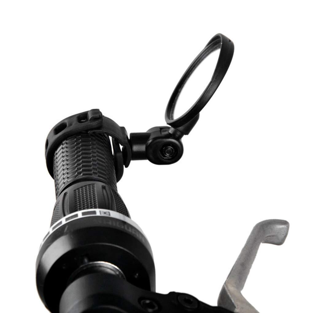 Zerama Universale manubrio regolabile biciclette specchio retrovisore grandangolare specchio convesso Ciclismo MTB Bike Accessories