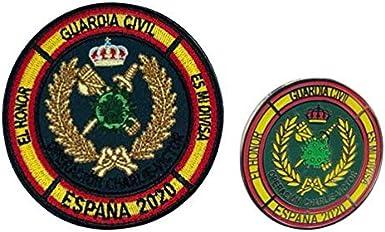 Gemelolandia Pack Pin y Parche Operación Balmis 2020 Bripac: Amazon.es: Ropa y accesorios